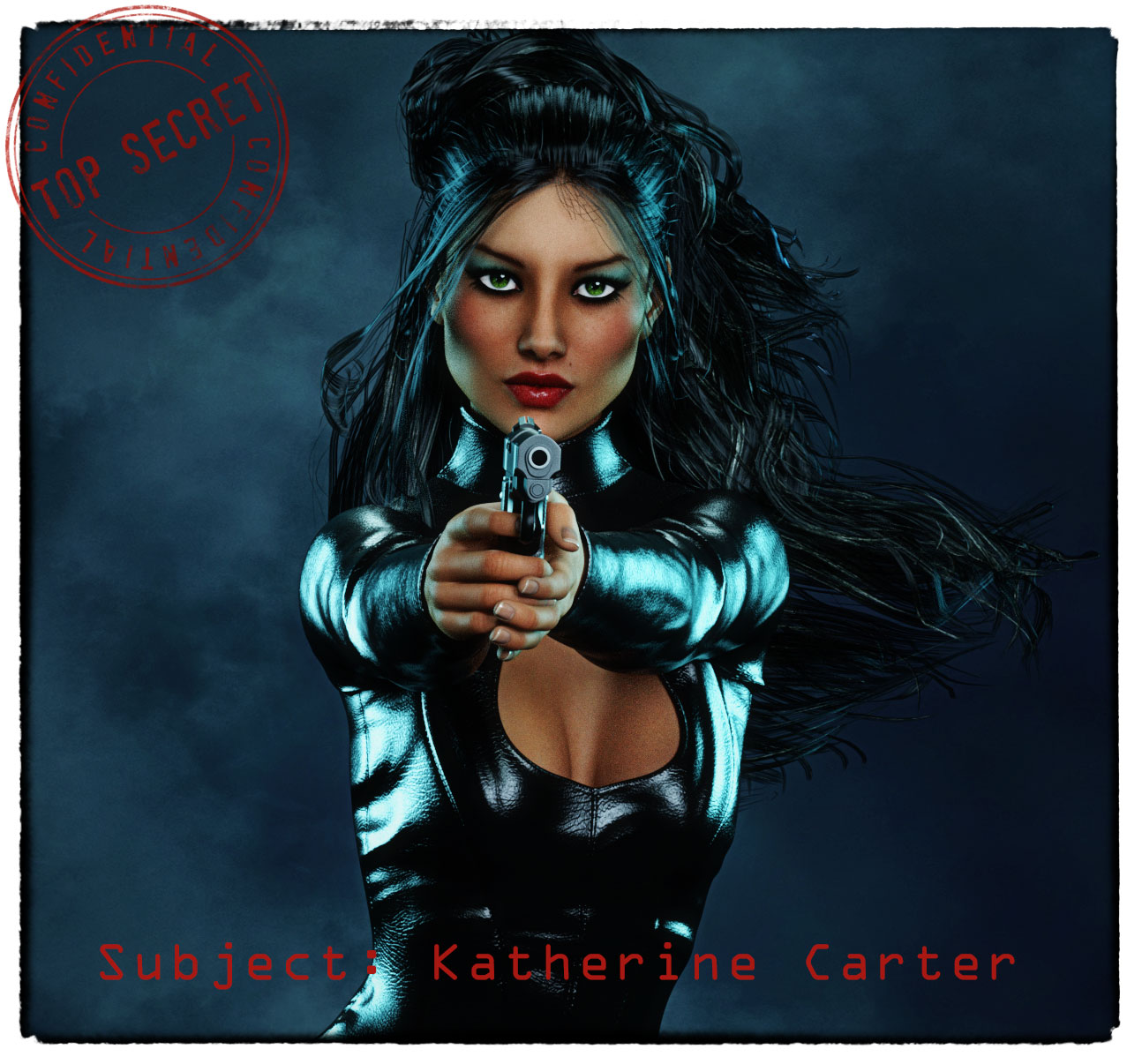 Meet the Supers- Kat Carter, aka Black Kat