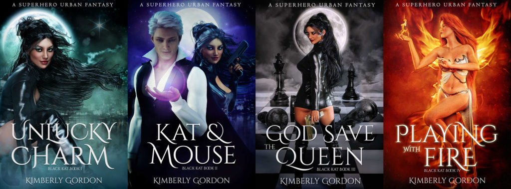 Black Kat Series: First 4 Books