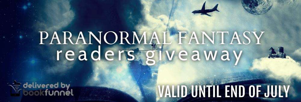 Paranormal Fantasy Readers Giveaway