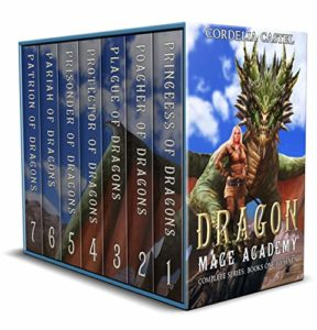 Dragon Mage Academy by Cordelia Castel