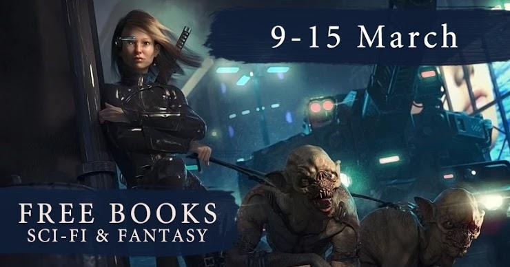 Sci Fi Fantasy Free Book Giveaway