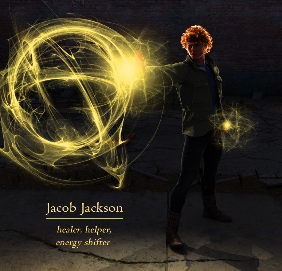 Jacob Jackson, energy shifter, Black Kat Series