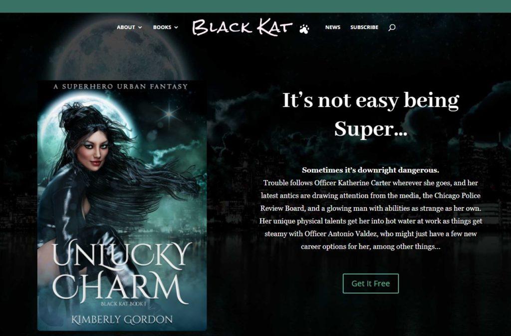 Black Kat website update