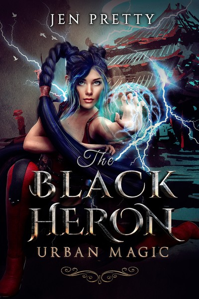 The Black Heron by Jen Pretty