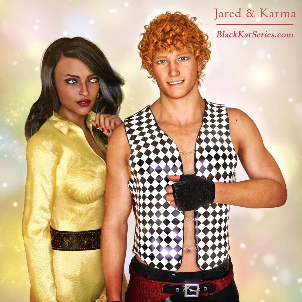 Jared & Karma energy shifters