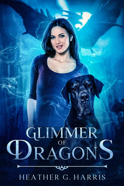 Glimmer of Dragons by Heather G Harris